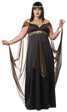 Egyptian Queen Cleopatra - Plus Size Halloween Costumes