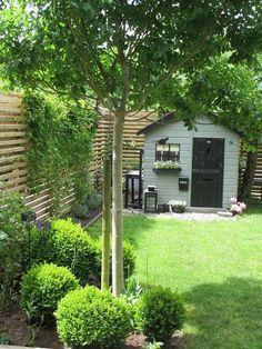 Une petite cabane au fond du jardin