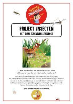 Thema insecten kriebelbeestjes | Juf Anke lesidee kleuters Nature Study, 5 Year Olds, School Projects, Curriculum, Kids, Stay Wild, Garden, Musica, Holland
