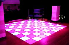 LED Dance Floor. We're getting these so excited.