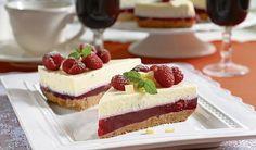 Nepečená dobrota krok za krokom: Malinová torta s mascarpone | DobreJedlo.sk