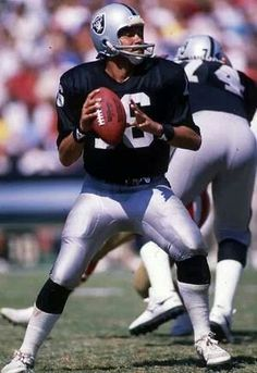 Jim Plunkett Quarterback Raiders