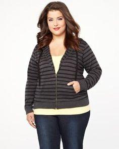 hi-low hoodie | Shop Online at Addition Elle