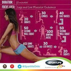Retomar el ritmo de entrenamiento requiere esfuerzo y disciplina. Prueba desde hoy este #Workout para trabajar piernas y fase cardíaca.  - 20 sentadillas - 30 flexiones de rodilla simples - 40 estiramientos de pantorrilas - 50 sentadillas, espalda y pared -  100 saltos y palmas - 50 sentadillas, espalda y pared - 40 sentadillas de sumo  - 30 estiramientos de piernas y pantorrillas - 20 sentadillas