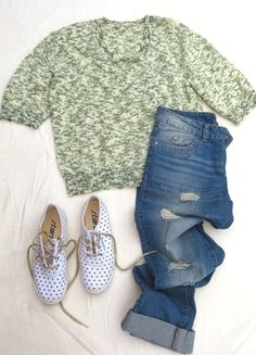 À vendre sur #vintedfrance ! http://www.vinted.fr/mode-femmes/pull-overs/24716182-pull-vintage-jaspe-chine-ajoure-tricote-main-hand-knit-vert-pastel-manches-34