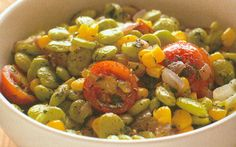 "Looking for a new recipe to try out this summer? Check out this delicious recipe for Summertime Succotash from Alicia Silverstone's book, ""The Kind Diet""!"