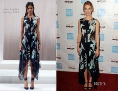 January Jones In Wes Gordon - 41st Annual Peace Over Violence Humanitarian Awards
