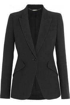 ALEXANDER MCQUEEN Crepe Blazer. #alexandermcqueen #cloth #jackets