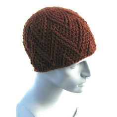 The Zig Beanie (AKA The Charlie Brown) - CROCHET PATTERN.  Thursday's Handmade Love Week 85 ~ Theme - Mens Winter Hats ~ Crochet Addict UK http://www.crochetaddictuk.com/2013/11/thursday-handmade-love-week-85.html