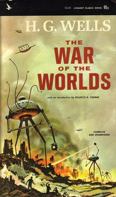 Books by H.G. Wells like this one and The Time Machine were early influences for me.