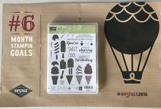 Cool Treats Stampin' UP! Occasions Catalog 2017 #fabricpaperscissors #onstagepheonix2016
