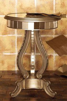Stylish home: Mirrored furniture