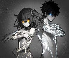 Gudao and Gudako Awesome Anime, Anime Love, All Anime, Otaku, Manga Anime, Anime Art, Video Game, Character Art, Character Design