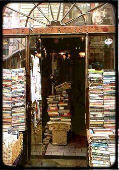 Books, Books Everywhere...and I love the Ionic Column. :)