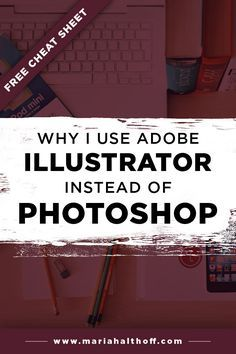 A lot of people assume Photoshop is the main program graphic designers use to design everyday graphics when in actuality it's Illustrator! Find out why and whether you should be using Illustrator too.