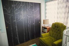 the boo and the boy: chalkboards in kids' rooms
