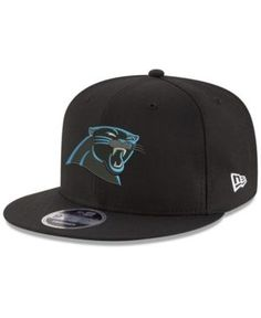 New Era Carolina Panthers Team Color Basic 9FIFTY Snapback Cap - Black Adjustable