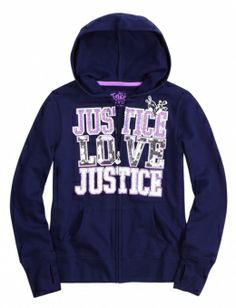 Justice Clothes for Girls Outlet | ... Zip-up Hoodie With Sequins | Girls Sweatshirts Clothes | Shop Justice