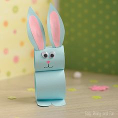 There's just enough time left to make this adorable and easy Easter craft – the paper bunny craft. You've got all that you need already at home and you can make these in many different colors. These little bunnies will make a great decoration on your Easter table. You could even hide them around the …