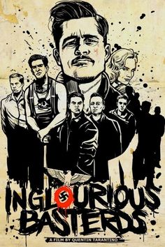 Inglourious Basterds - great acting, a massive amount of blood, but still a must-see if you're against nazis