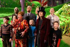 Charlie and the Chocolate Factory (2005) Directed by Tim Burton