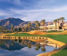 La Quinta Resort & Spa, Palm Springs, CA. Travel destination for golfers and tennis players.