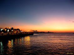 .: Por do sol em Santarém - Pará - Amazônia - Brasil