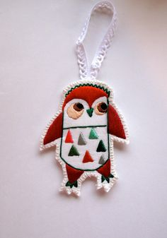 Christmas owl ornament #Christmas #owl #ornament
