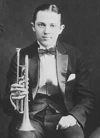 Bix Beiderbecke, jazz cornetist whose virtuosity and influence in the 1920's rivaled Louis Armstrong.  Beiderbecke's alcoholism shortened a talented life.  He died in 1931 at the age of 28.