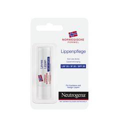 Gut für trockene und rissige Lippen. Mit LSF 20.