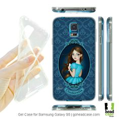 Cinderella Fairy Tale Princesses Gel Case for Samsung Galaxy S5