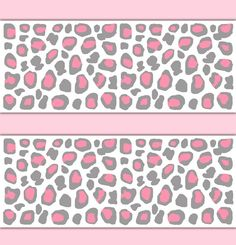 Baby Animal Print Border