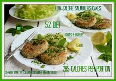 A Tasty Store-Cupboard Standby: Low-Calorie Salmon & Herb Fish-Cakes Recipe (285 Calories)