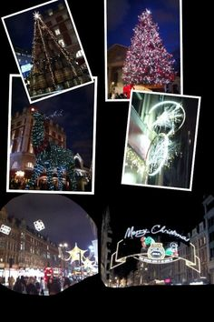Photo No 335 - London Lights (Nov Took myself round Covent Garden and snapped some pics of the Christmas Lights (didn't succeed in locating the waffle stand I was looking for though). Had a great catch up with some online writers too. Christmas Lights, Christmas Tree, Covent Garden, Waffle, Writers, 30th, Around The Worlds, Challenge, London