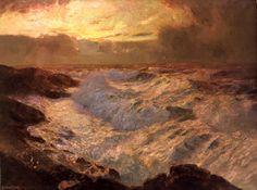 marine oil paintings