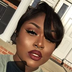 WEBSTA @ makeupbyquinshana - When the sun all up in ya face ✨ Sunburst gets me right ✨✨