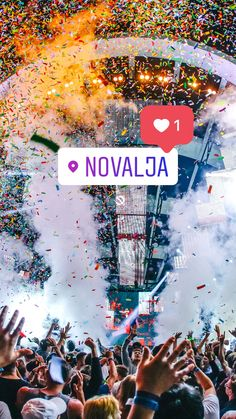 Der Papaya Club in Novalja | Zrce Beach in Kroatien #maxtours #clubpapaya #zrce #novalja