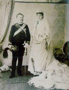 D.Carlos I e D.Amélia de Orleães casaram na Igreja de São Domingos no dia 22 de maio de 1886.