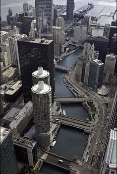 The Chicago River - see it green on St. Patrick's Day