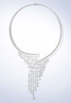 via By Sasha - Louis Vuitton necklace High Jewelry, Luxury Jewelry, Jewelry Art, Jewlery, Fashion Jewelry, Jewelry Design, Diamond Jewelry, Diamond Necklaces, Diamond Earrings