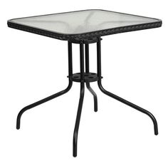 Flash Furniture Square Outdoor Bistro Table - TLH-073R-
