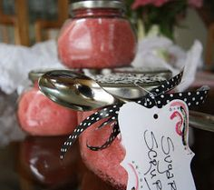 His, Hers and Ours DIY: SUGAR SCRUB