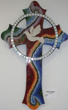 Peace Cross by Cher Cahn - stunning
