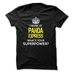 I work at Panda Express T-Shirts, Hoodies, Sweaters