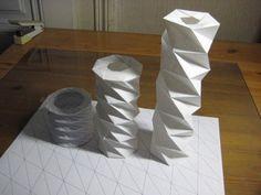 DIY Origami: DIY Pentagonal High-Tower Spring