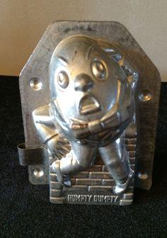 Vintage German Humpty Dumpty Chocolate Candy Mold | eBay