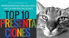 AYUDA PARA MAESTROS: TOP 10 - Herramientas online para hacer presentaciones