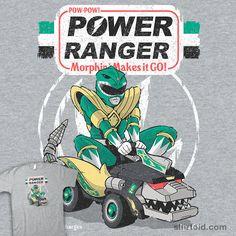 Pow-Pow-Power #atomicrocket #film #greenranger #mightymorphinpowerrangers #movie #powerwheels #tvshow