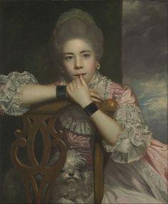 Фрэнсис Абингтон, 1771 (Сэр Джошуа Рейнольдс) (1723-1792) Йельский центр…
