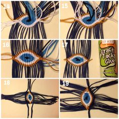 Make a Greek Evil Eye
